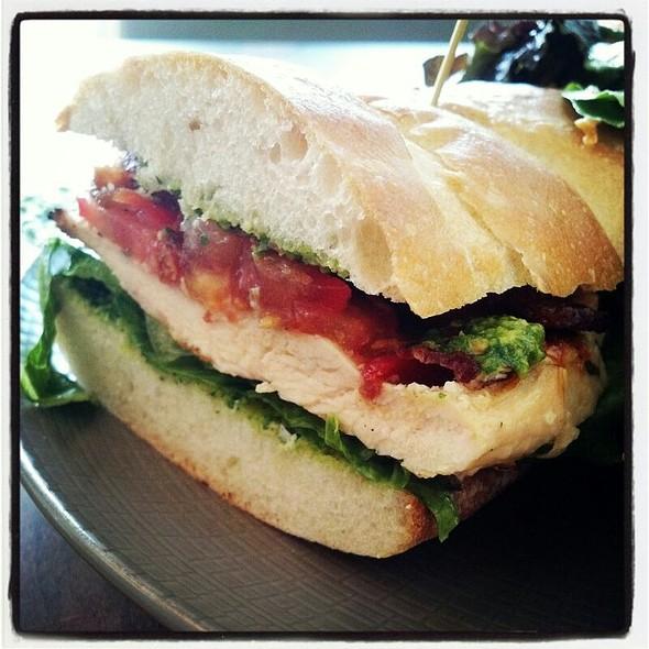 Grilled Chicken Sandwich - Close Up  - Fare Restaurant, Philadelphia, PA