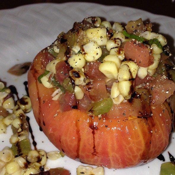 Heirloom Stuffed Heirloom Tomato - The Basin, Saratoga, CA