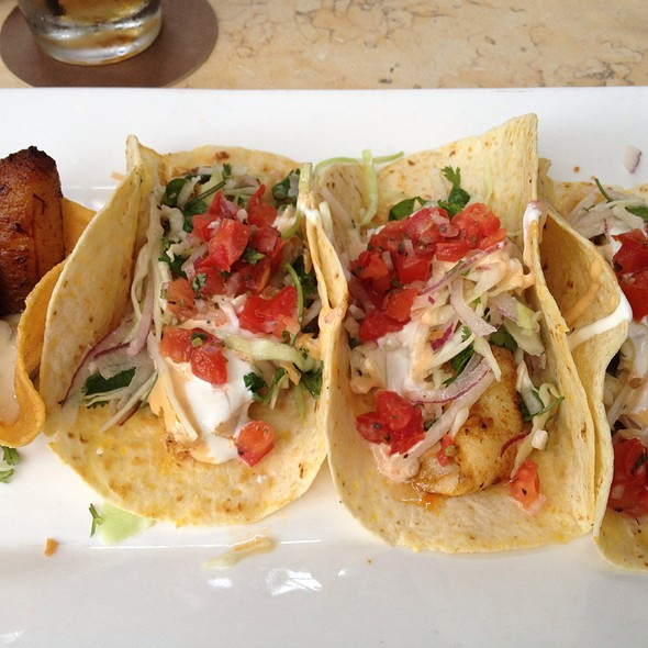 Blackened Fish Tacos - Tommy Bahama Restaurant & Bar - The Woodlands, The Woodlands, TX
