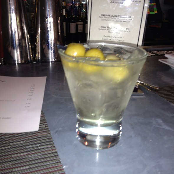 Gray Goose Dirty Martini - Liv's Oyster Bar, Old Saybrook, CT