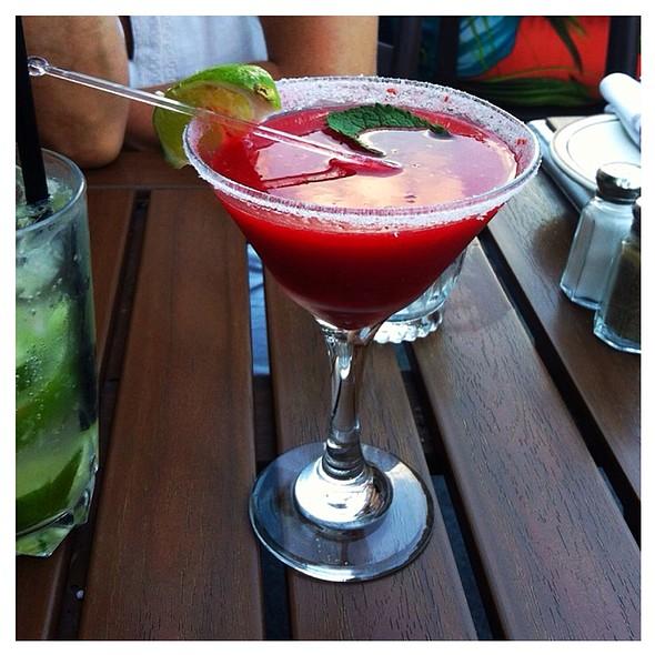 Tequila, Fresh Rasberries & Menthe - Taverne Gaspar, Montréal, QC