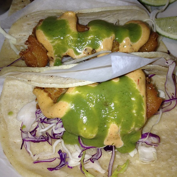 Soft Shell Fish Tacos - Burger and Barrel, New York, NY