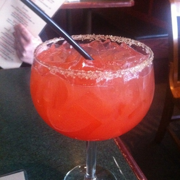 Strawberry Margarita - Stokes Grill and Bar - Old Market, Omaha, NE