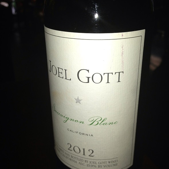 Joel Gott Sauvignon Blanc - Kindee Thai Restaurant, Minneapolis, MN