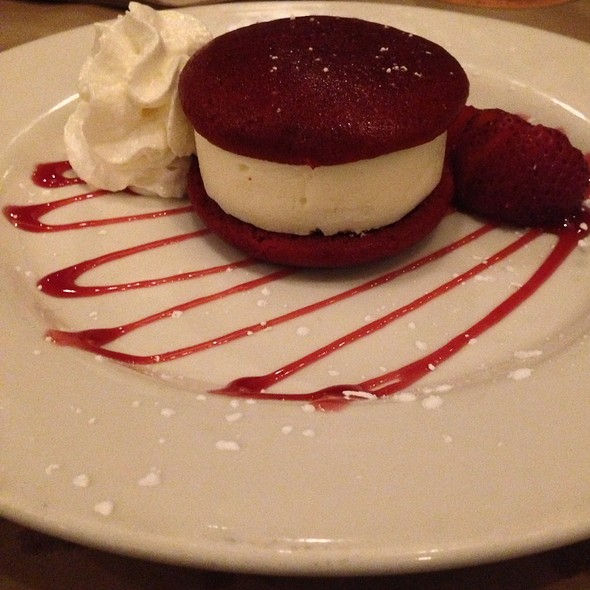 Red Velvet Ice Cream Sandwich - Heartland Brewery Chophouse, New York, NY