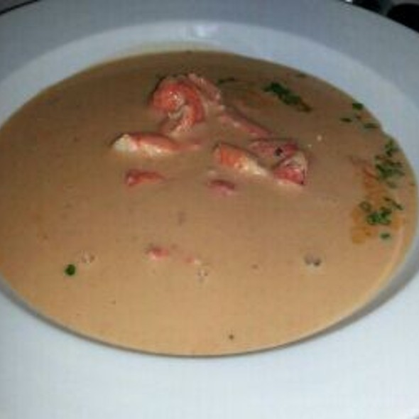 Maine Lobster And Shrimp Bisque - Eddie V's - Fort Worth, Fort Worth, TX