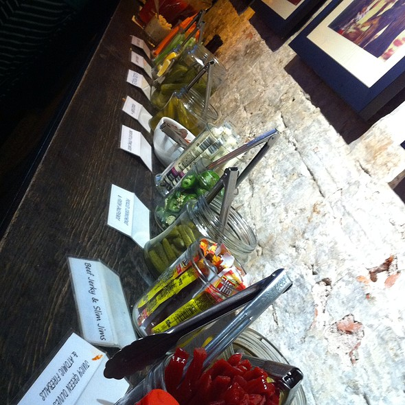 Make Your Own Bloody Mary Cocktail Bar - Amity Hall, New York, NY