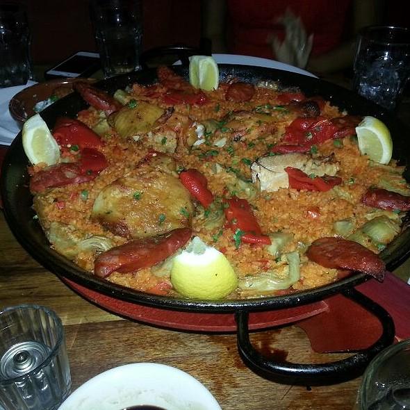 Chicken and Chorizo Paella - Ella Kitchen & Bar, New York, NY