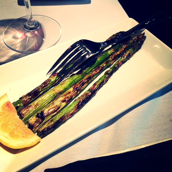 Grilled Asparagus - Spencer's for Steaks and Chops - Omaha, Omaha, NE