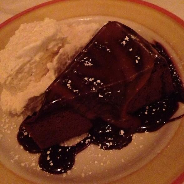 Gâteau au chocolat - Bistrot Zinc, Chicago, IL