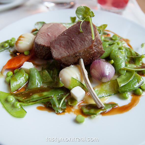 Quebec Lamb - Maison Boulud, Montréal, QC