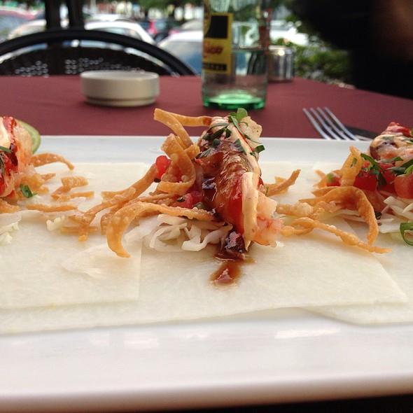 Shrimp Tacos With Jicama Wrapper - Chino Latino -  Monterrey, San Pedro Garza García, NLE