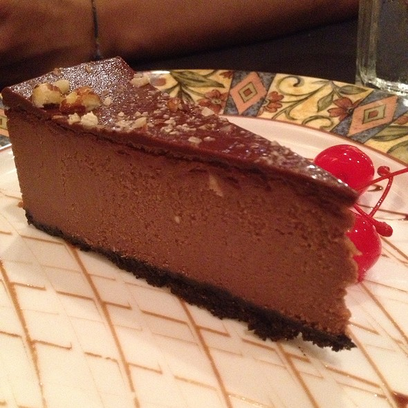 Nutella Hazelnut Cheesecake - Momo's Pasta - Addison, Dallas, TX