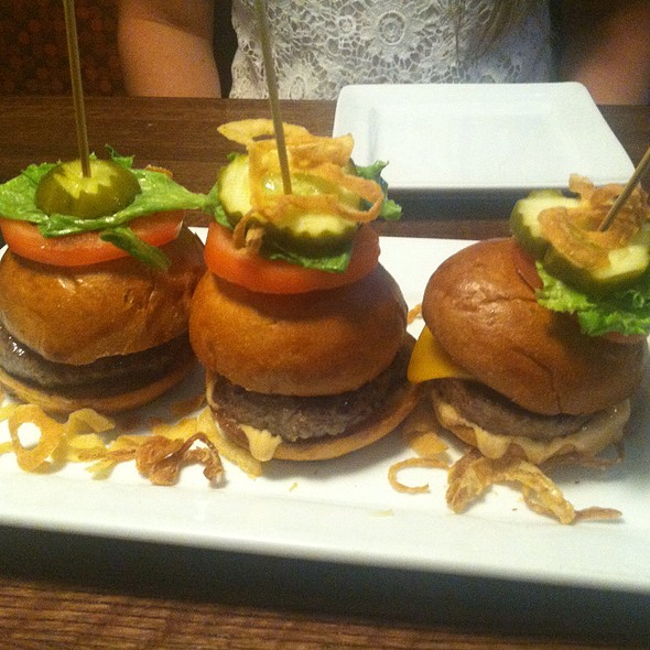 Kobe Beef Sliders - The Alehouse Columbia, Columbia, MD