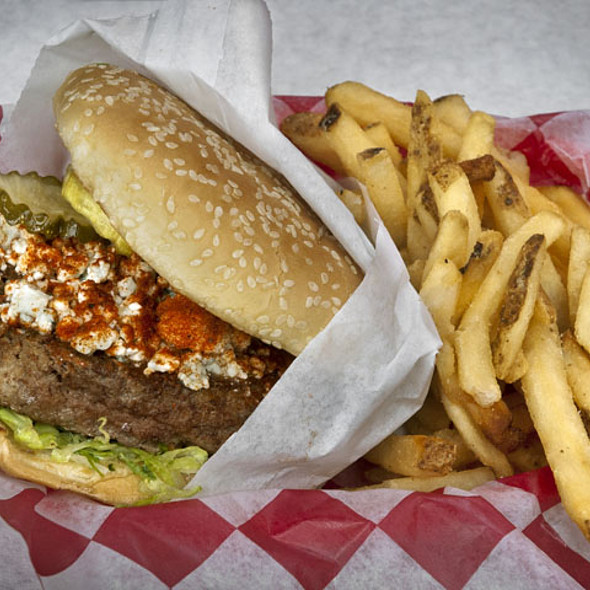Black And Bleu Burger - Dick's Last Resort - San Diego -  Permanently Closed, San Diego, CA