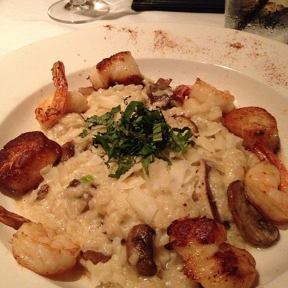 Shrimp And Scallops Risotto - Cobalt Grille, Virginia Beach, VA