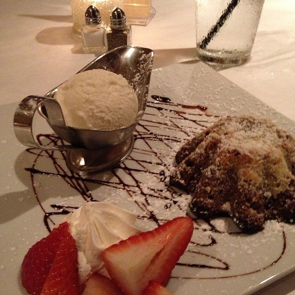 Molten Chocolate Cake - Cobalt Grille, Virginia Beach, VA