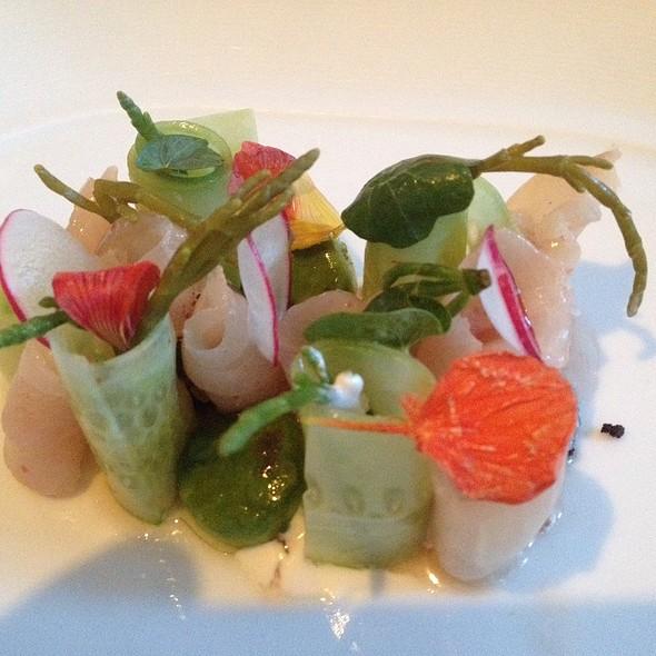 Kampachi Sashimi - Patina Restaurant, Los Angeles, CA