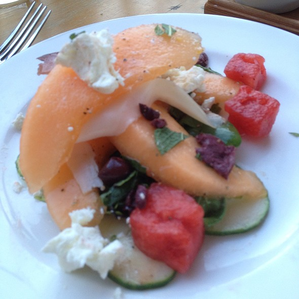 Summer Melon And Chevre Salad - Ellerbe Fine Foods, Fort Worth, TX