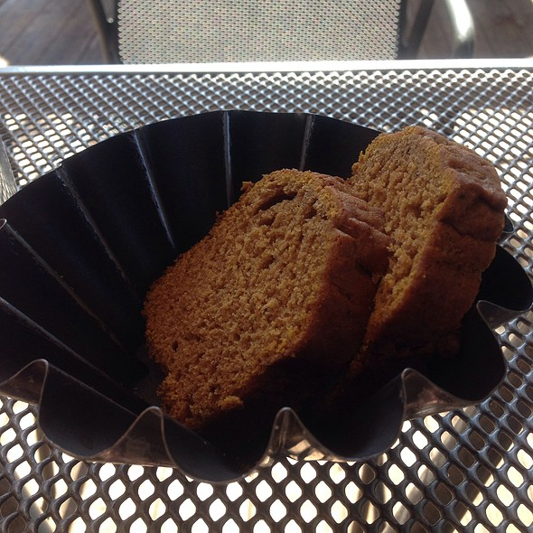 Pumpkin Bread - Gaia Bistro, Denver, CO