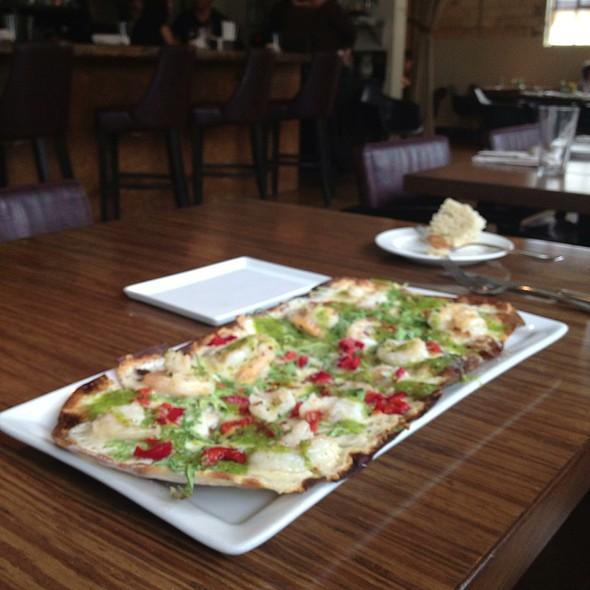 Spicy Shrimp Pizza - Stella Modern Italian Cuisine, Oklahoma City, OK