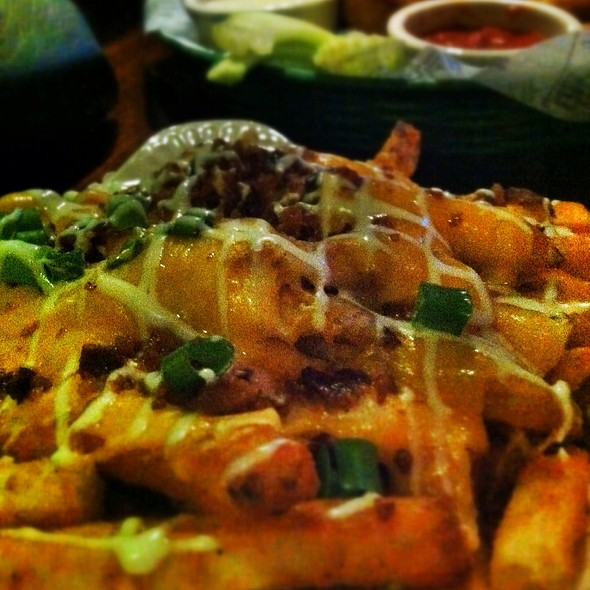 Loaded Spicy Cheese Fries - JIMMY BUFFETT'S MARGARITAVILLE at Universal CityWalk, Orlando, FL