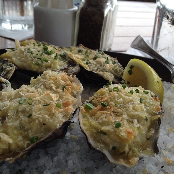 Baked Oysters - Pacific Coast Grill - Cardiff, Cardiff-By-The-Sea, CA