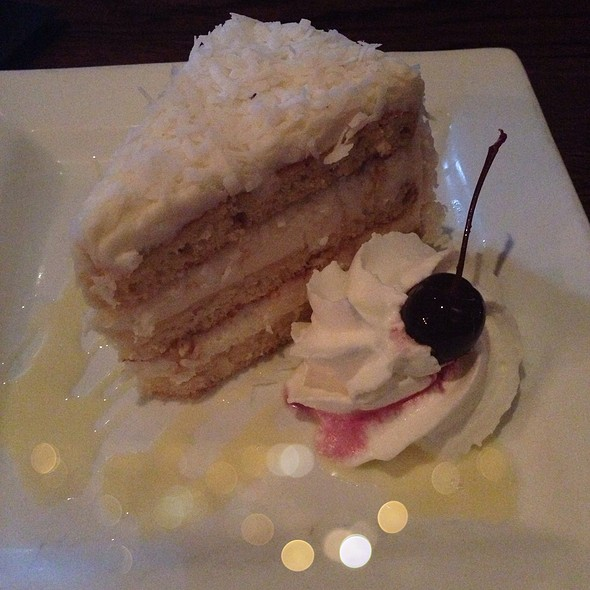 Coconut Cake - Red Pony Restaurant, Franklin, TN
