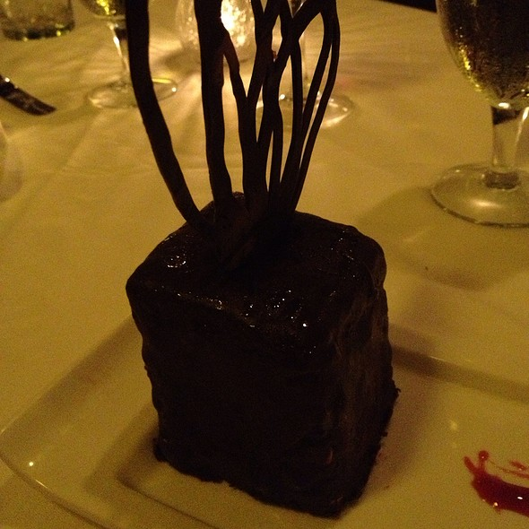 Triple Chocolate Cake - Purple Parrot Seafood and Steaks, Hattiesburg, MS