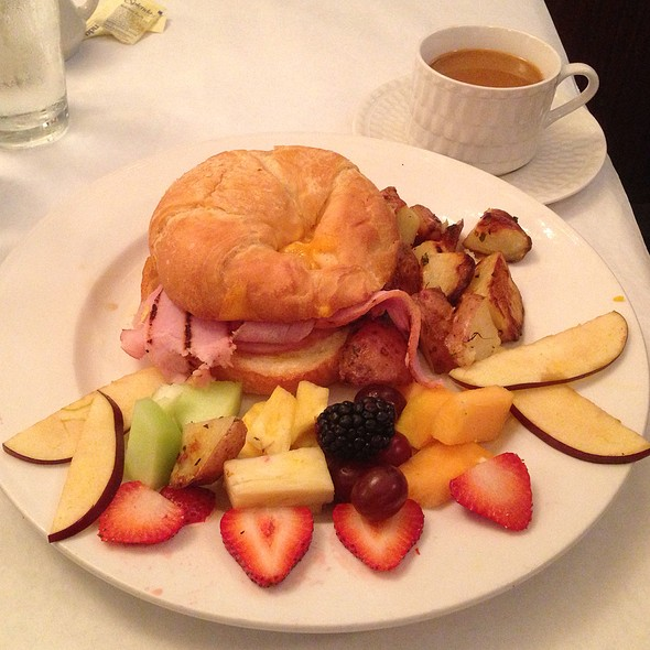 Ham & Cheese Croisant - Bijan's Bistro, Chicago, IL