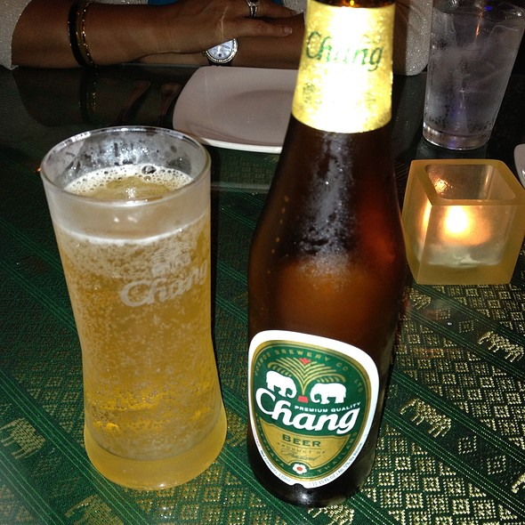 Chang Beer - Thai Thani - Orlando, Orlando, FL