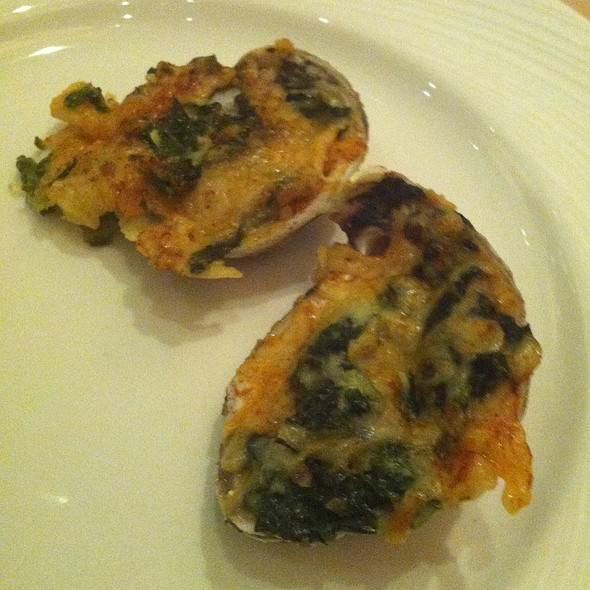 Oysters Rockefeller - Sterling's Seafood Steakhouse at Silver Legacy Resort Casino, Reno, NV