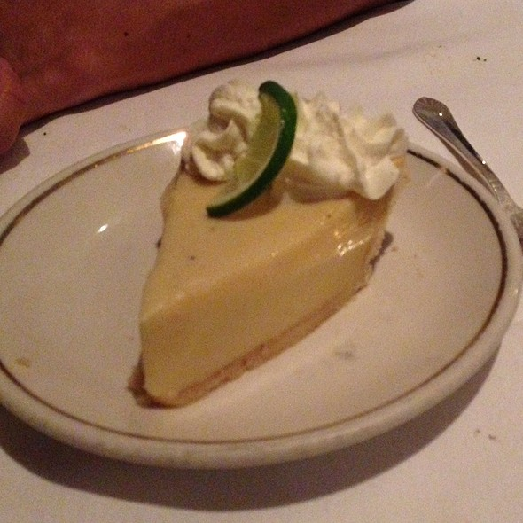 Key Lime Pie - The Prime Rib - Baltimore (The Original), Baltimore, MD