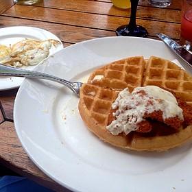 Chicken and Waffles - Villa O, Dallas, TX