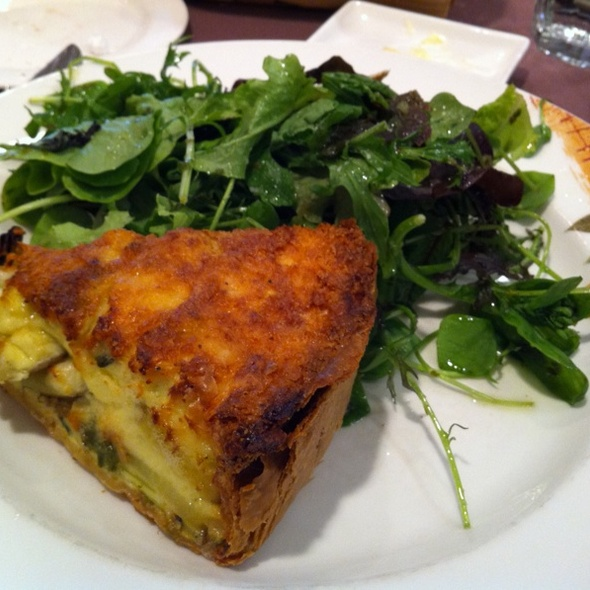 Cheese Quiche - Henrietta's Table, Cambridge, MA