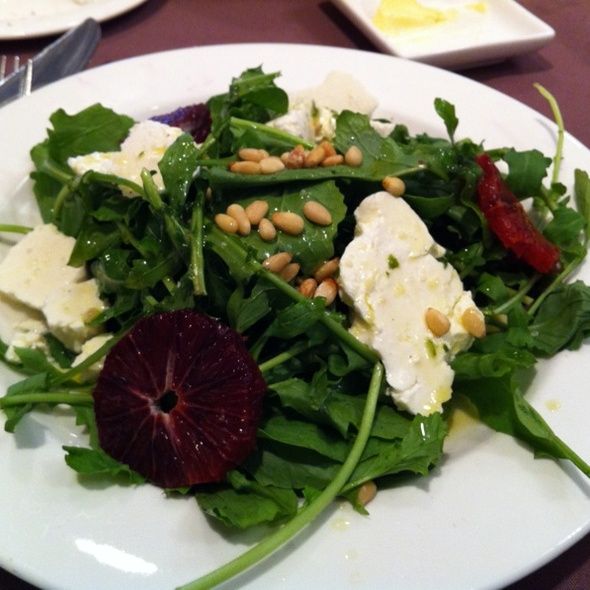 Blood Orange and Arugula Salad - Henrietta's Table, Cambridge, MA