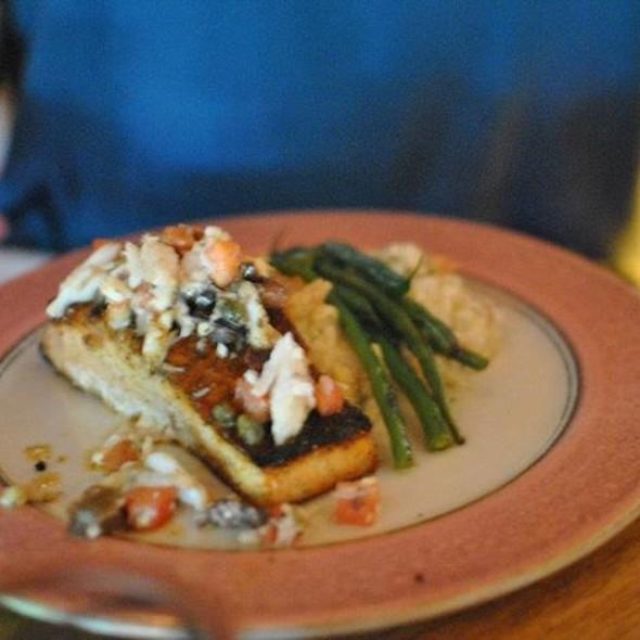Blackened Salmon - Catherine's Restaurant, Kennett Square, PA
