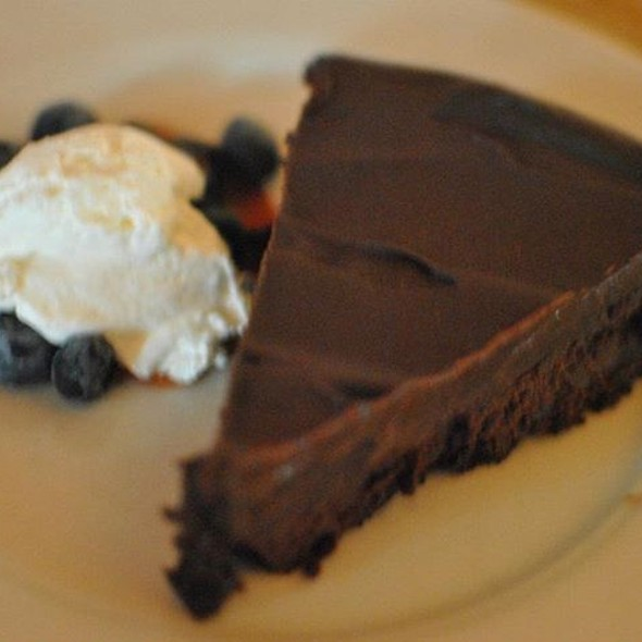 Chocolate Chipotle Flourless Torte  - Catherine's Restaurant, Kennett Square, PA