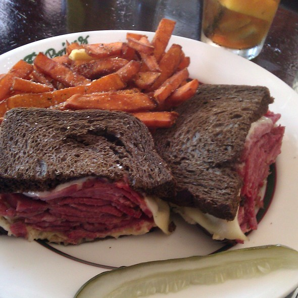 Reuben Sandwich - O'Briens Restaurant and Bar - Temporarily Closed, Chicago, IL