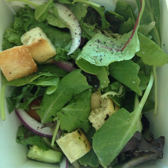 Side Salad - Slice of Vegas, Las Vegas, NV