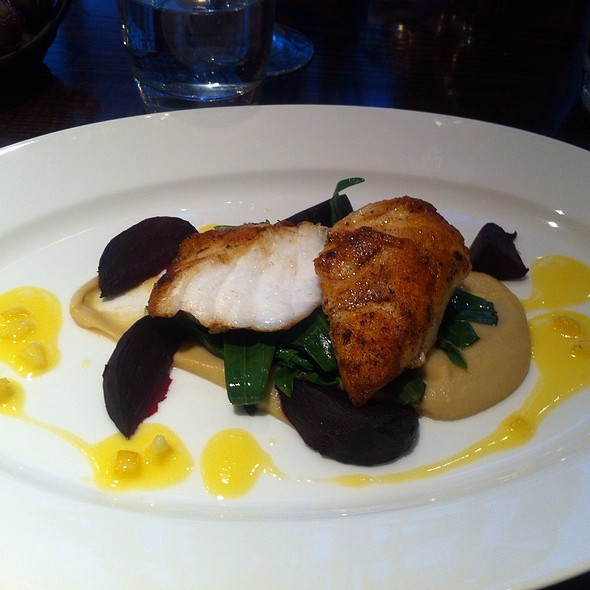 monkfish - Chiswell Street Dining Rooms, London