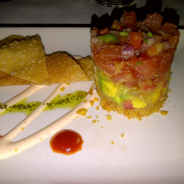 Ahi Tuna Tower - Morton's The Steakhouse - Boca Raton, Boca Raton, FL
