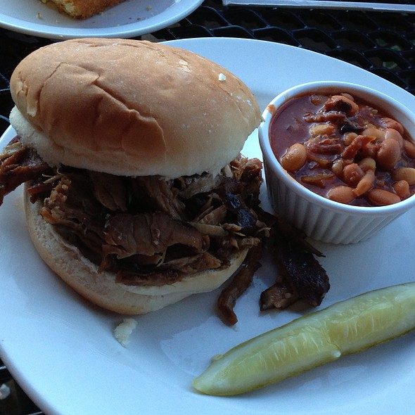 Spare Ribs Sandwich - The Sugarhouse Barbeque Company, Salt Lake City, UT