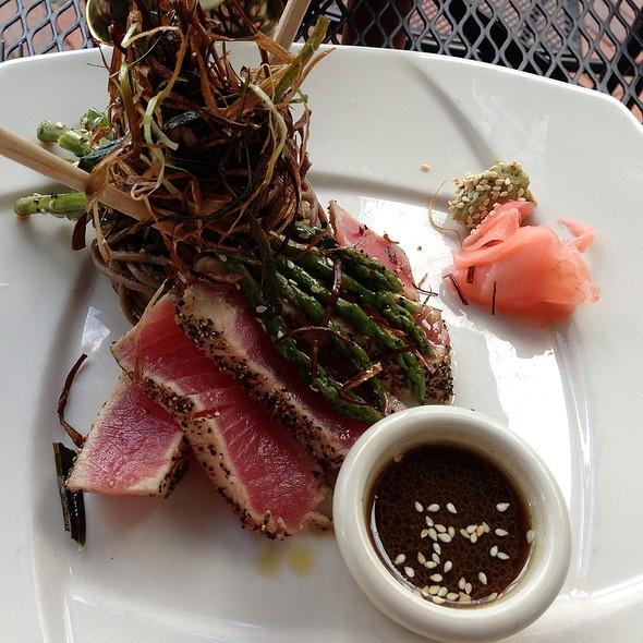 Seared Sushi Tuna - David's Restaurant, Portland, ME
