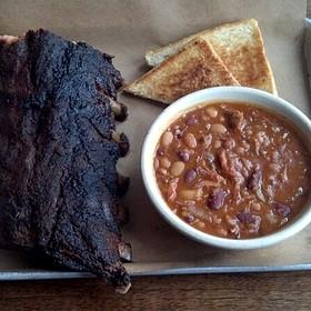 Half Slab Baby Back Ribs - Doc Crow's Southern Smokehouse & Raw Bar, Louisville, KY