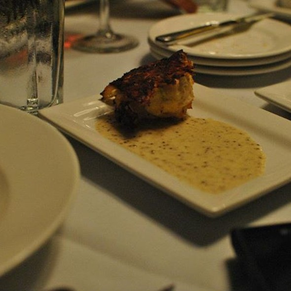 crab cake - Mile High Steak & Seafood, Glen Mills