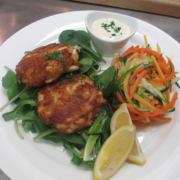 Crab Cakes with remoulade sauce - Le Persil Bistro, Stroudsburg, PA