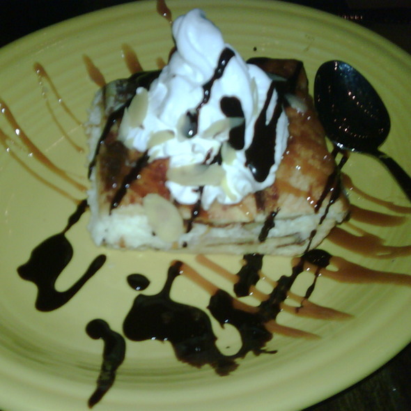 Cheesecake Sopapilla - Rosalita's Cantina, St. Louis, MO