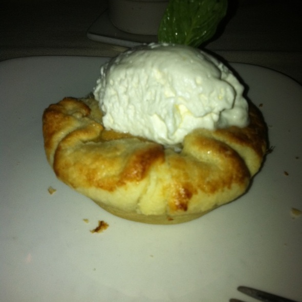 Apple Crostata - Ponti Seafood Grill, Seattle, WA