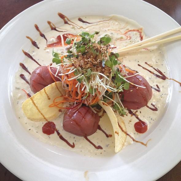 Spicy Tuna Ravioli - UMI Sushi, Millburn, NJ